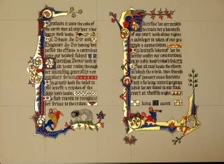 calligraphy letter i court barony for gwen the potter based on macclesfield 21059