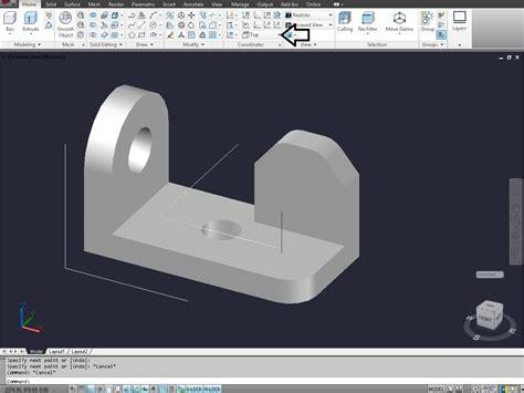change view  autocad  modeling grabcad tutorials