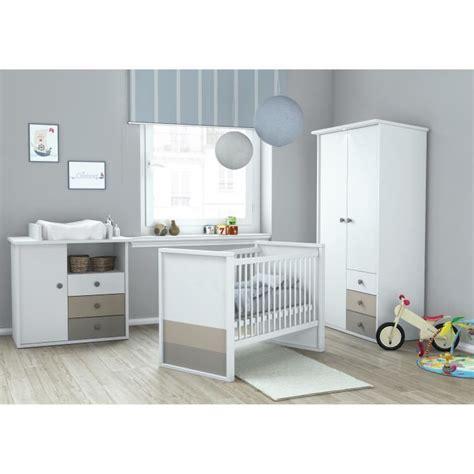 chambre bebe bebe9 plage chambre bébé complète 3 pièces armoire lit