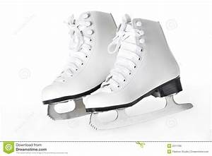 A Pair Of Figure Skates Royalty Free Stock Images - Image ...