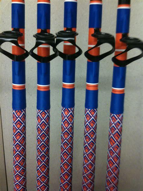 custom rods florida gators fishing colors beach west