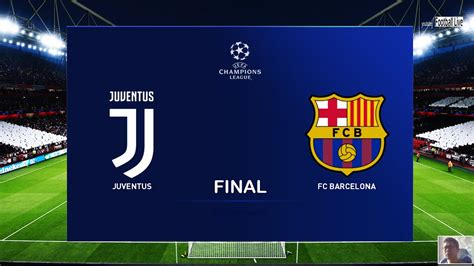PES 2020 | Juventus vs Barcelona | Final UEFA Champions ...