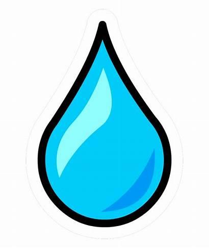Water Clipart Drop Clip Droplets Droplet Transparent