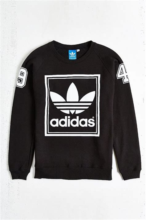 adidas sweater black and white buy gt adidas crew neck sweater