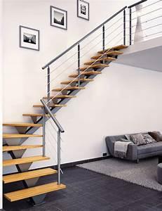 Escalier Quart Tournant Haut Droit : escalier m tal limon central design sur mesure escaliers ~ Dailycaller-alerts.com Idées de Décoration