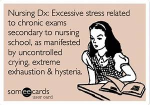 Nursing Dx: Excessive stress related to chronic exams ...