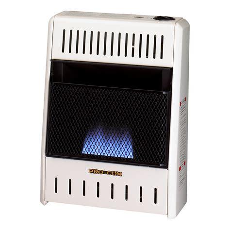 Ventless Natural Gas Blue Flame Wall Heater   6,000 BTU