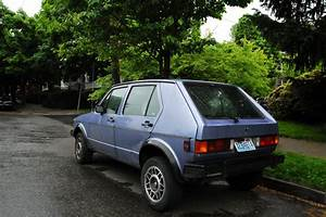 Old Parked Cars   1983 Volkswagen Rabbit