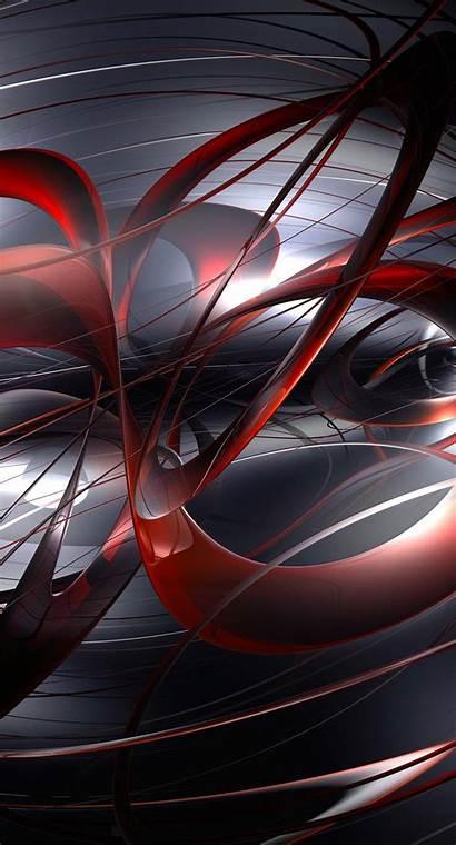 Iphone Hitam Sc Merah Pattern Cool Keren