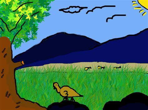 background kartun anachibby