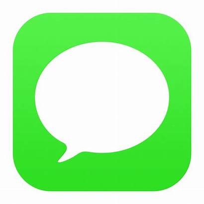 Icon Messages Ios Icons Message App Iphone