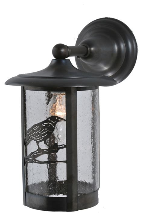 meyda lighting 8 quot w fulton solid mount wall sconce