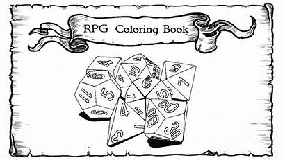 Rpg Coloring Tabletop Games Snippets Friday Frame