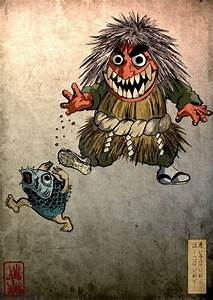 Demon Japonais Dessin : namahage from matsuri series by gosh and seiko concept art tatouage japonaise ~ Maxctalentgroup.com Avis de Voitures