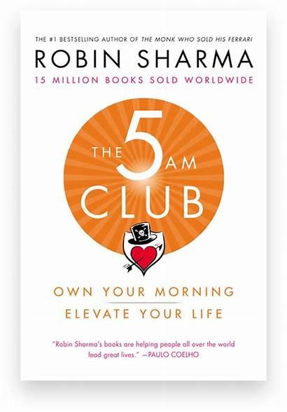 Club Robin Sharma 5am Am Books Month