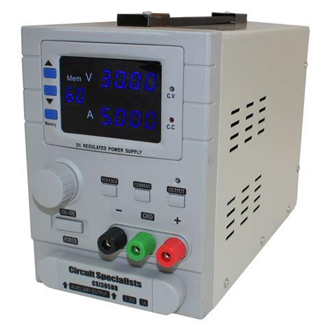 Benchtop Power Supplies Fixed Adjustable Programmable