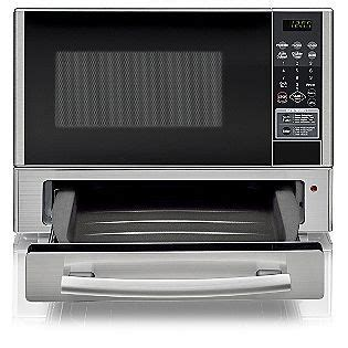 toaster on top of microwave lg 1 1 cu ft mid size microwave stainless steel