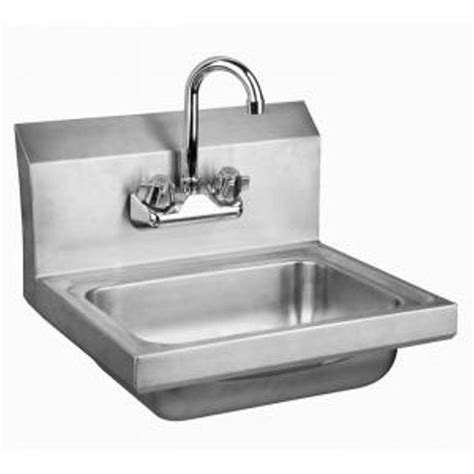 stainless steel commercial hand wash sinks glacier bay all in one 24 2 in x 21 35 in x 33 85 in
