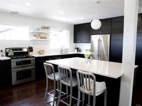 black  white kitchen designs youtube