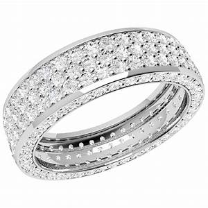 full eternity ring diamond set wedding ring for women in With wedding ring with diamonds all the way around