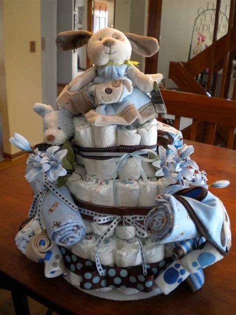 puppy themed baby shower boys puppy cake theme