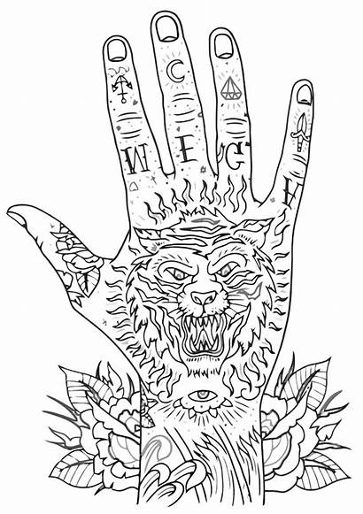 Tattoo Coloring Pages Tattoo12