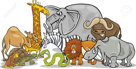 group  animals clipart   cliparts