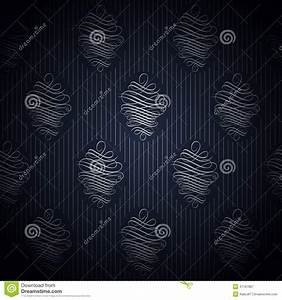 Papier Peint Bleu Foncé : papier peint bleu fonc sans couture dans le style r tro illustration de vecteur image 47167867 ~ Melissatoandfro.com Idées de Décoration