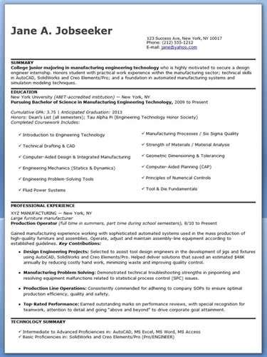 entry level engineering resume objective statement