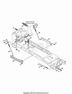 Troy Bilt 13wqa2kq011 Super Bronco 50  2015  Parts Diagram For Deck Lift