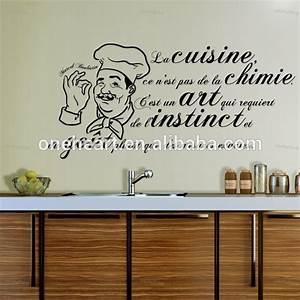 Lettre Decorative Cuisine : amovible vinyle accueil wall sticker cuisine wall sticker sticker 3d home decor lettre auto ~ Teatrodelosmanantiales.com Idées de Décoration