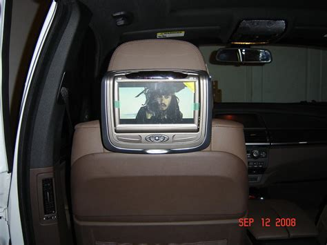 Headrest Dvd Installed- Invision Sl