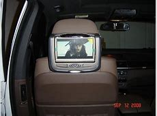Headrest DVD Installed Invision SL Xoutpostcom