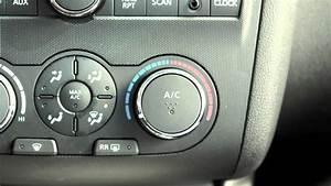 2012 Nissan Altima - Manual Climate Controls