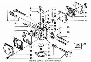 Poulan 8500 Gas Saw Parts Diagram For Carburetor Breakdown