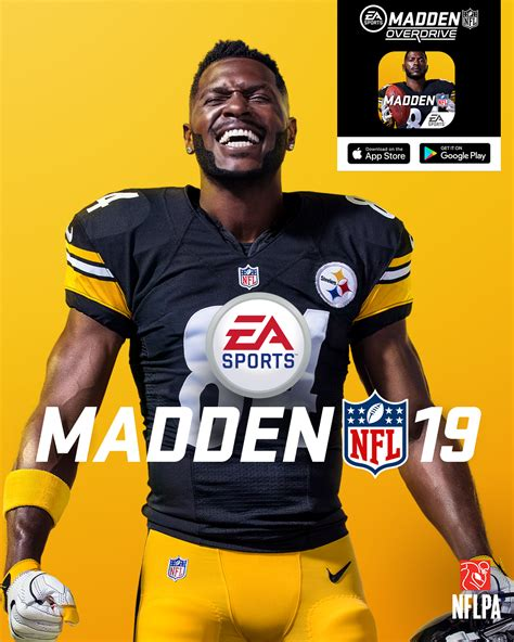Antonio Brown Madden '19 Cover Athlete | Nothing But Geek