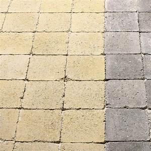 Pavé Autobloquant Pas Cher : pav tarnis b ton jaune ton pierre cm x ~ Premium-room.com Idées de Décoration