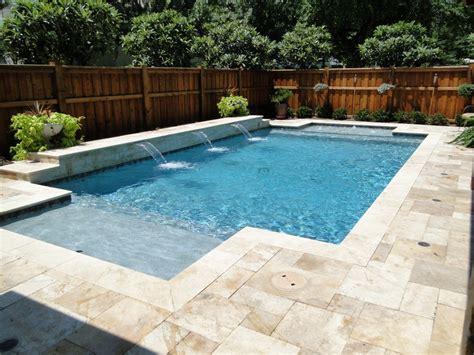 lovely travertine pool decking 1 travertine pool deck
