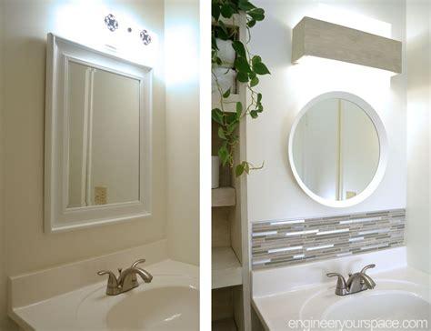 diy small bathroom remodel  bathroom makeover