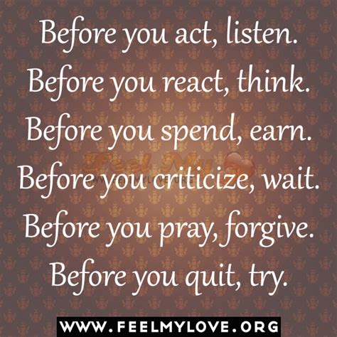 Quotes About Not Thinking Before You Act