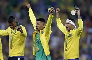 Neymar kick is gold; gives Brazil 1st Olympic soccer title