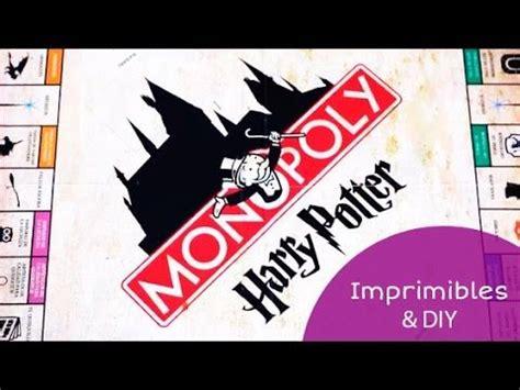 Cada versión se ha adaptado para películas, otros juegos, ubicaciones del mundo real y más. Imprimibles del Monopoly de Harry Potter (en español) + DIY ⚡️ - YouTube | Monopoly de harry ...