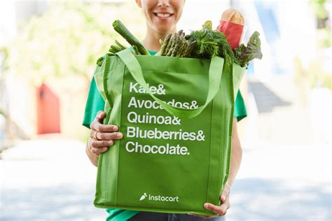 grocery delivery instacart bag services food compare