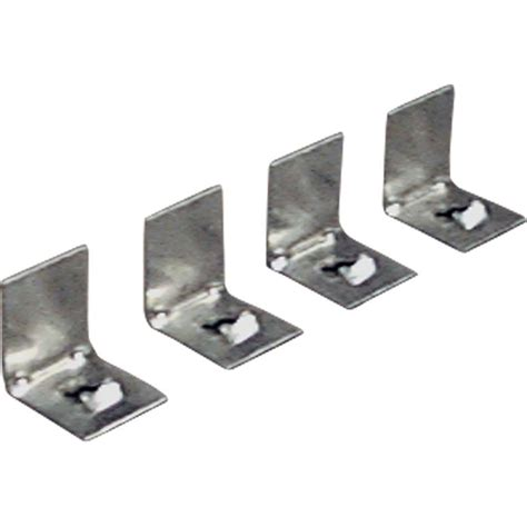 c clips for recessed lighting rubbermaid nickel shelf support clips 12 pack