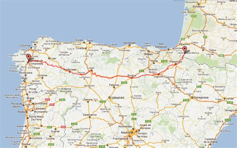 camino pilgrimage map pilgrims on the road to santiago 2014 route and map of