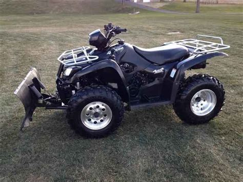 Suzuki Four Wheeler For Sale by Used 2004 Suzuki Vinson 500 4x4 With Snow Plow Atvs For