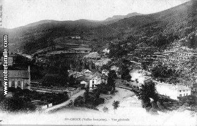 si e croix fran ise sainte croix vallée française 48110 lozère la ville