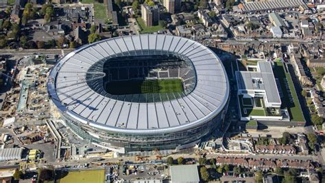 Tottenham hotspurs stadium is one of the grandest of its kind in football on the planet. Tottenham's Stadium 'May Not Be Ready Until March' in New ...