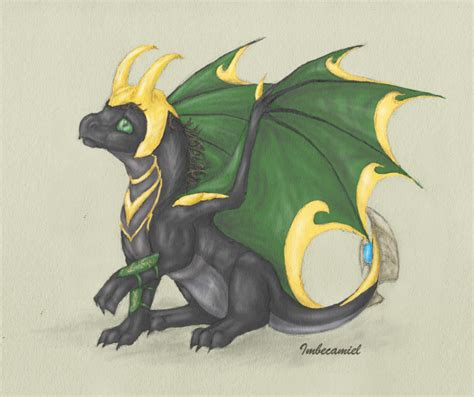 Oops Aka Baby Loki Dragon By Imbecamiel On Deviantart