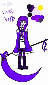 Violet Purple- my color oc by LilyDragon14 on DeviantArt